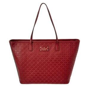 Kate Spade XL Margareta Penn Place Embossed Tote♠️